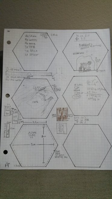 Catan blueprints